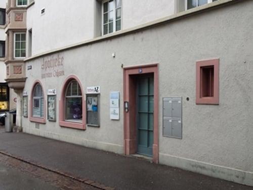 Geschäftsstelle Volksapotheke Schaffhausen