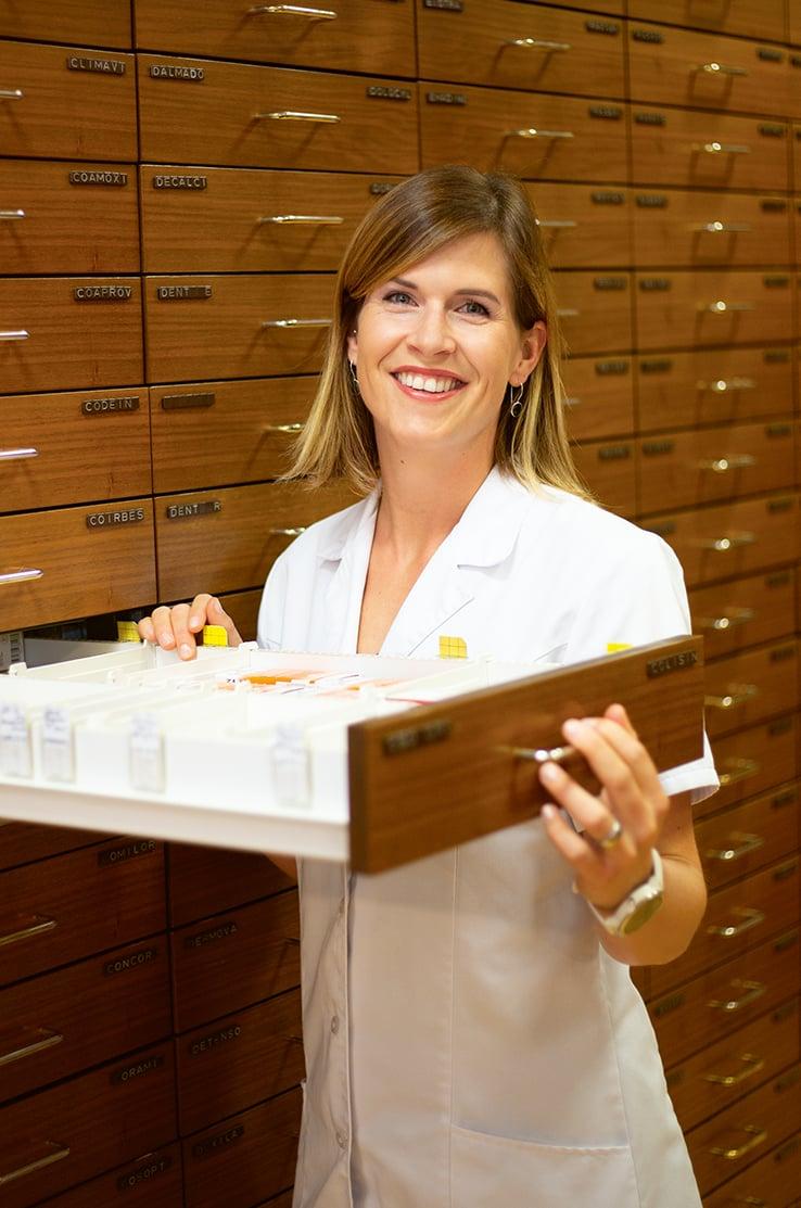 Helene Möckli_ Pharma-Assistentin 40% Visagistin